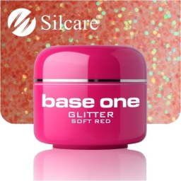 Żel Glitter Viva Soft Red 5g