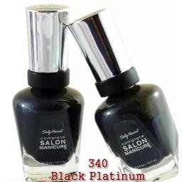 SALLY HANSEN Complete Salon Manicure Black Platinu