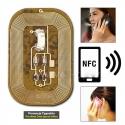 Świecąca Naklejka Led Niebieska w Technologii NFC