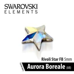SWAROVSKI GWIAZDKA - AURORA BOREALE 5 mm 1szt.