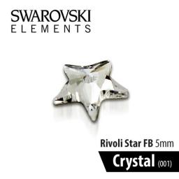 SWAROVSKI GWIAZDKA - CRYSTAL 5 mm 1szt.