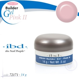 IBD LED/UV BUILDER GEL 14 GRAM PINK II