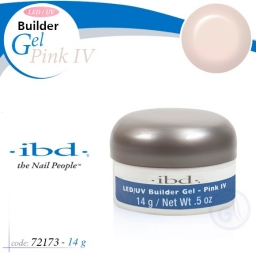 IBD LED/UV BUILDER GEL 14 GRAM PINK IV