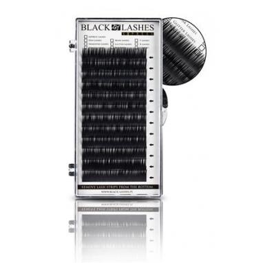 Rzęsy Express Black Lashes C 0,25 Dlugość 9 mm