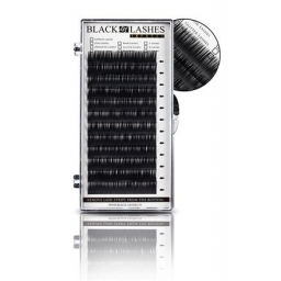 Rzęsy Express Black Lashes D 0,15 Dlugość 12 mm