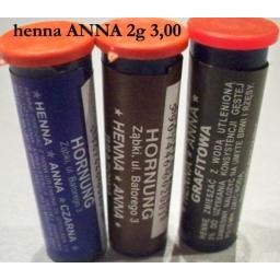 Henna w Proszku Anna Czarna 2 g