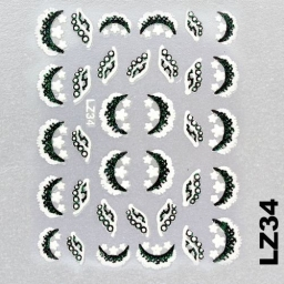 Naklejka 3 D Na Paznokcie LZ34