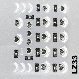 Naklejka 3 D Na Paznokcie LZ33
