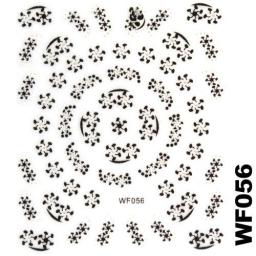 Naklejka 3 D Na Paznokcie WF056