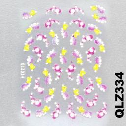 Naklejka 3 D Na Paznokcie QLZ334