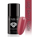 Lakier hybrydowy Semilac 005 Berry Nude - 7 ml