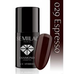 Lakier hybrydowy Semilac 029 Expresso - 7 ml