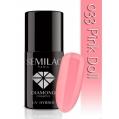 Lakier hybrydowy Semilac 033 Pink Doll - 7 ml