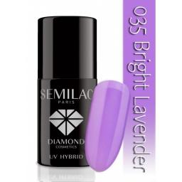 Lakier hybrydowy Semilac 035 Bright Lavender - 7 ml