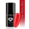 Lakier hybrydowy Semilac 039 Sexy Red - 7 ml