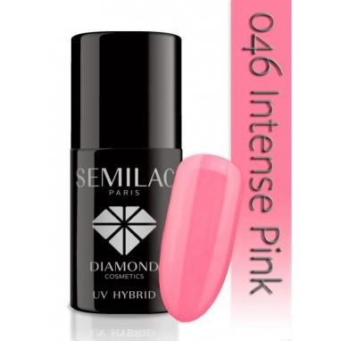 Lakier hybrydowy Semilac 046 Intense Pink - 7 ml