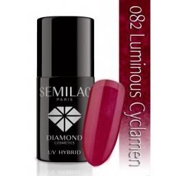 Lakier hybrydowy Semilac 082 Luminous Cyclamen - 7 ml
