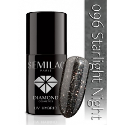Lakier hybrydowy Semilac 096 Starlight Night - 7 ml