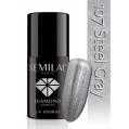 Lakier hybrydowy Semilac 107 Steel Gray - 7 ml