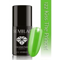Lakier hybrydowy Semilac 122 Kiss The Prince - 7 ml