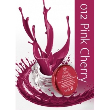 Żel UV kolor GeltaQ 012 Pink Cherry