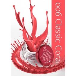 Żel UV kolor GeltaQ 006 Classic Coral