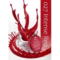 Żel UV kolor GeltaQ 027 Intense Red
