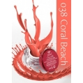 Żel UV kolor GeltaQ 038 Coral Beach