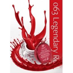 Żel UV kolor GeltaQ 063 Legendary Red