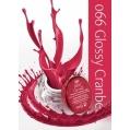 Żel UV kolor GeltaQ 066 Glossy Cranberry