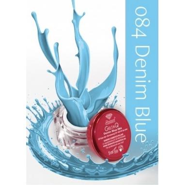 Żel UV kolor GeltaQ 084 Denim Blue