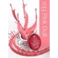 Żel UV kolor GeltaQ 033 Pink Doll