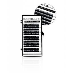 Black Lashes C Grubośc 0,05 Długość 13mm.