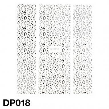 Monochromatyczna naklejka samoprzylepna (folia)  Duży Arkusz 7,5cm x 9cm