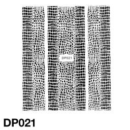 Naklejka DP021 CZARNA