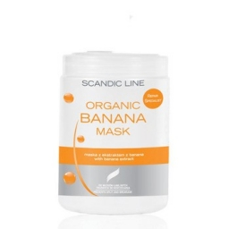 aska bananowa, każdy rodzaj włosów, szczególnie włosy łamliwe i trudne do rozczesywania, 1 Litr