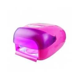 Lampa UV do Paznokci 36W z Sensorem z Cała Różowa
