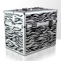 Kuferek rozkładany jednoczęściowy na lampę LCD lub UV - zebra