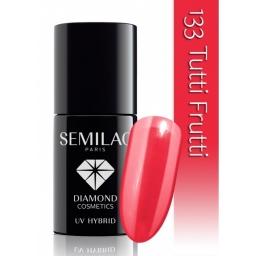 Lakier hybrydowy Semilac 133 Tutti Frutti - 7 ml