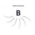 Rzęsy Jedwabne  Blink Lash Stylist & Care. Profil B. Grubość 0,20. Długość 15 mm