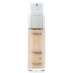 L´Oreal Paris True Match Super Blendable Foundation. Podkład 1N Ivory 30 ml.