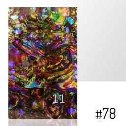 LASER EFFECT - NAKLEJKA SAMOPRZYLEPNA Nr 78 ARKUSZ 8CM x 5CM.