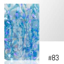 LASER EFFECT - NAKLEJKA SAMOPRZYLEPNA Nr 83 ARKUSZ 8CM x 5CM.