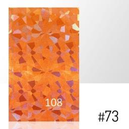 LASER EFFECT - NAKLEJKA SAMOPRZYLEPNA Nr 73 ARKUSZ 8CM x 5CM.