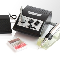 Frezarka do manicure i pedicure JD500 czarna 35Watt