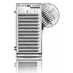Black Lashes Express W-Lashes C 0,15 x 12 mm