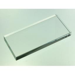 Szkiełko pod klej do rzęs wymiary 9.5 cm x4.4 cm x1.0 cm
