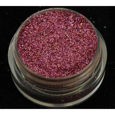 Hologram Różowy 0.2 mm. Pojemność Słoiczka 5 ml.