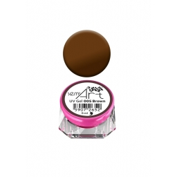 Semilac® UV Gel Semi-Art 005 Brown - 5 ml
