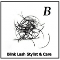 Rzęsy Jedwabne Profil B. Grubość 0,20. Długość 9 mm. Blink Lash Stylist & Care.
